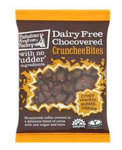 No 4: Fabulous Free from Factory Dairy Free Choc Covered Crunchee Bites