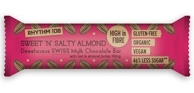 No 1: Rhythm 108 Sweet and Salty Almond bar